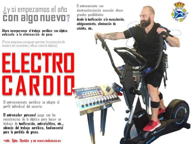 Electro cardio estimulaci n con el ptica - Beneficios de la bici eliptica ...
